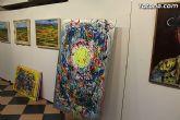 La sala municipal Gregorio Cebri�n acoge la muestra colectiva de pintores murcianos Luz positiva - 35