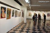 La sala municipal Gregorio Cebri�n acoge la muestra colectiva de pintores murcianos Luz positiva - 37