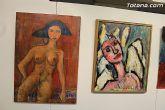 La sala municipal Gregorio Cebri�n acoge la muestra colectiva de pintores murcianos Luz positiva - 38