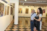 La sala municipal Gregorio Cebri�n acoge la muestra colectiva de pintores murcianos Luz positiva - 39