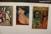 La sala municipal Gregorio Cebri�n acoge la muestra colectiva de pintores murcianos Luz positiva - 40