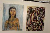 La sala municipal Gregorio Cebri�n acoge la muestra colectiva de pintores murcianos Luz positiva - 42