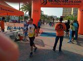 Atletas del Club Atletismo Totana participaron en la 4º Media maratón y 10 km Bahía de Mazarrón - 2
