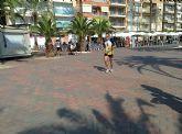 Atletas del Club Atletismo Totana participaron en la 4º Media maratón y 10 km Bahía de Mazarrón - 10