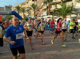Atletas del Club Atletismo Totana participaron en la 4º Media maratón y 10 km Bahía de Mazarrón - 17