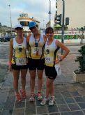 Atletas del Club Atletismo Totana participaron en la 4º Media maratón y 10 km Bahía de Mazarrón - 22