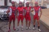 Los corredores del CC Santa Eulalia disputaron la carrera ciclistas del Pilar de la Horadada en carretera y Villaverde de Guadalimar MTB