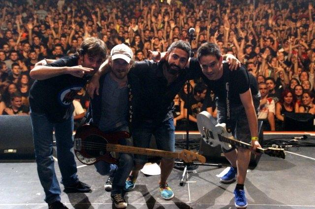 Discordia actuó con gran éxito en Valencia junto a Ska-p, Foto 1