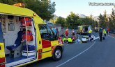 La Guardia Civil auxilia a dos ciclistas que sufrieron un aparatoso accidente en la carretera MU-503