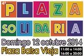 Una quincena de asociaciones participan este domingo en la Plaza Solidaria