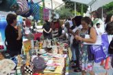 Éxito de participación en la cuarta edición la Plaza Solidaria en la que se dieron cita un total de dieciséis asociaciones