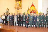 La Guardia Civil celebra su día festivo en compañía de vecinos y autoridades municipales