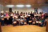 Se entregan los diplomas a los 72 participantes que han finalizado con éxito el Programa Municipal de Formación para la Inclusión Social en los últimos 12 meses