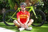 El ciclista totanero Mario García ya luce el maillot de Campeón de España de Ciclismo en categoría Sénior