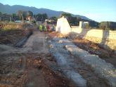 El Ayuntamiento de Alhama acomete obras de mejora en el camino del Cañarico hacia Librilla