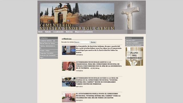 Totana la p gina web del cementerio municipal nuestra - Marmoles torre pacheco ...