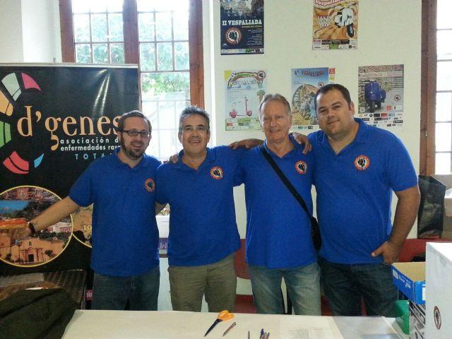 """A total of 231 euros was raised for the association D'Genes VII Vespaliada """"Ciudad de Murcia"""", Foto 1"""