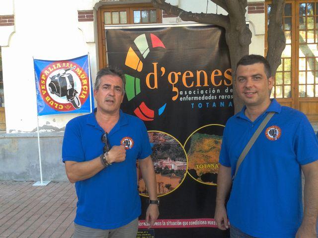 """A total of 231 euros was raised for the association D'Genes VII Vespaliada """"Ciudad de Murcia"""", Foto 3"""