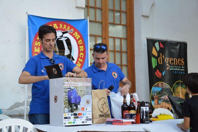 """A total of 231 euros was raised for the association D'Genes VII Vespaliada """"Ciudad de Murcia"""", Foto 4"""