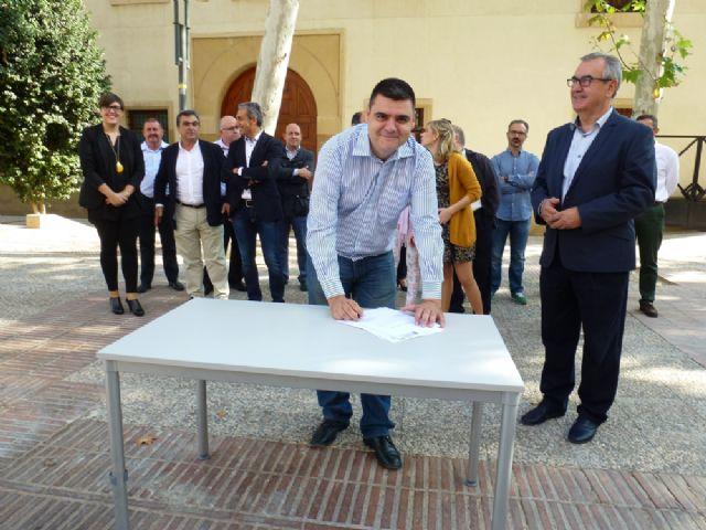 Tovar y los candidatos a las alcaldías de los principales municipios de la Región firman el Código Ético socialista por la transparencia y contra la corrupción - 2