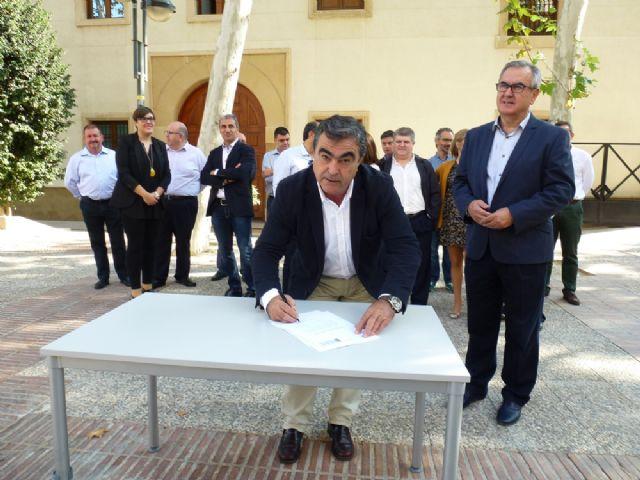 Tovar y los candidatos a las alcaldías de los principales municipios de la Región firman el Código Ético socialista por la transparencia y contra la corrupción - 3