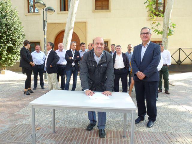 Tovar y los candidatos a las alcaldías de los principales municipios de la Región firman el Código Ético socialista por la transparencia y contra la corrupción - 10