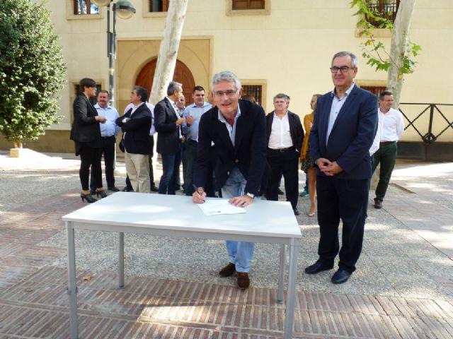 Tovar y los candidatos a las alcaldías de los principales municipios de la Región firman el Código Ético socialista por la transparencia y contra la corrupción - 4