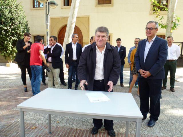 Tovar y los candidatos a las alcaldías de los principales municipios de la Región firman el Código Ético socialista por la transparencia y contra la corrupción - 5