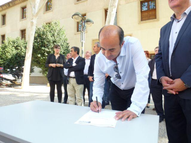 Tovar y los candidatos a las alcaldías de los principales municipios de la Región firman el Código Ético socialista por la transparencia y contra la corrupción - 6