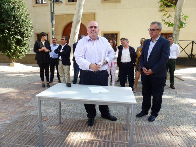 Tovar y los candidatos a las alcaldías de los principales municipios de la Región firman el Código Ético socialista por la transparencia y contra la corrupción - 7