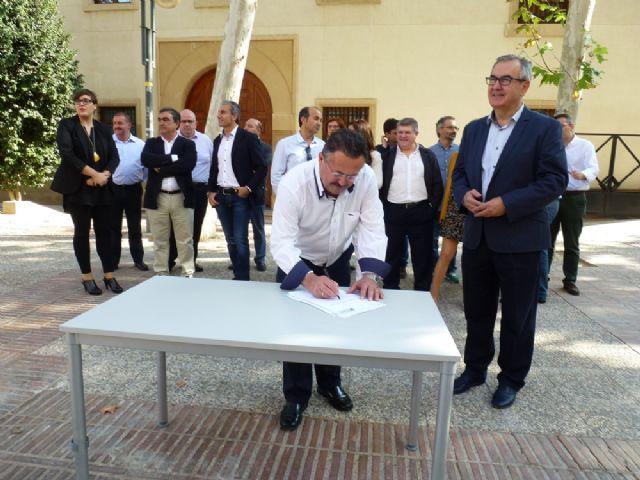 Tovar y los candidatos a las alcaldías de los principales municipios de la Región firman el Código Ético socialista por la transparencia y contra la corrupción - 9