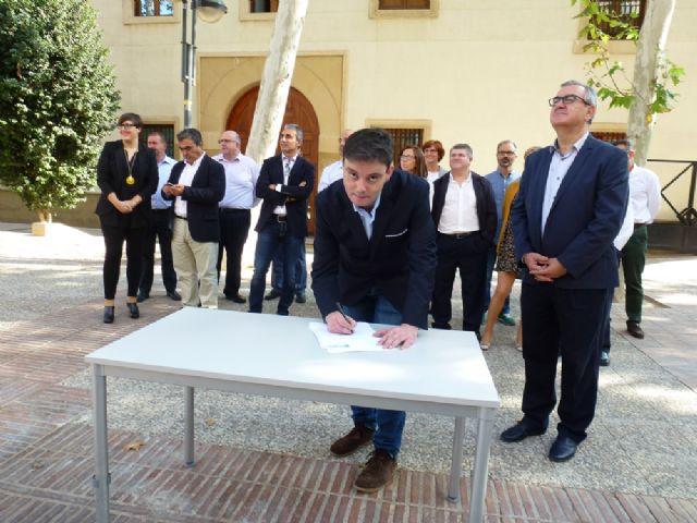 Tovar y los candidatos a las alcaldías de los principales municipios de la Región firman el Código Ético socialista por la transparencia y contra la corrupción - 11