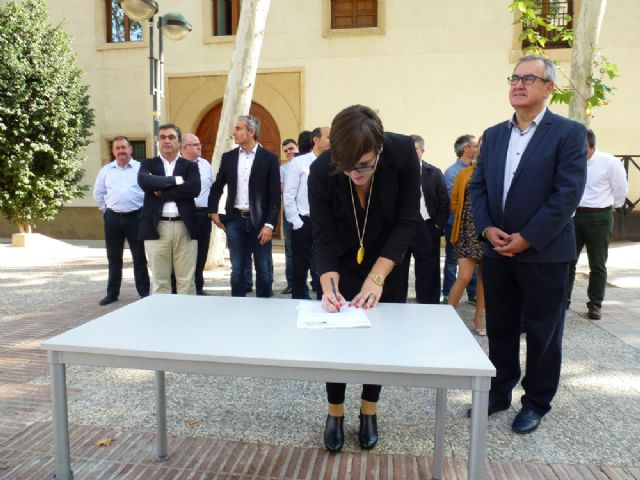 Tovar y los candidatos a las alcaldías de los principales municipios de la Región firman el Código Ético socialista por la transparencia y contra la corrupción - 12