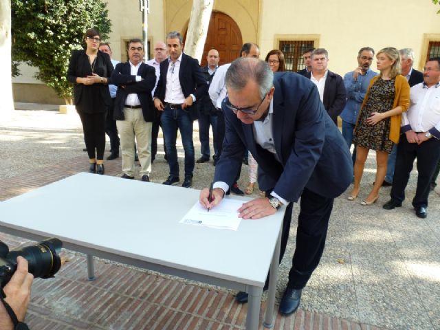 Tovar y los candidatos a las alcaldías de los principales municipios de la Región firman el Código Ético socialista por la transparencia y contra la corrupción - 14
