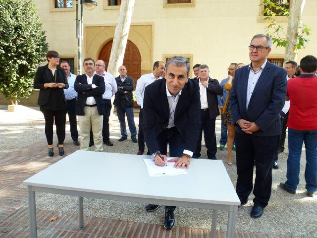 Tovar y los candidatos a las alcaldías de los principales municipios de la Región firman el Código Ético socialista por la transparencia y contra la corrupción - 15