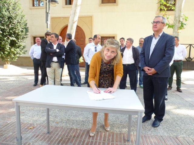 Tovar y los candidatos a las alcaldías de los principales municipios de la Región firman el Código Ético socialista por la transparencia y contra la corrupción - 16