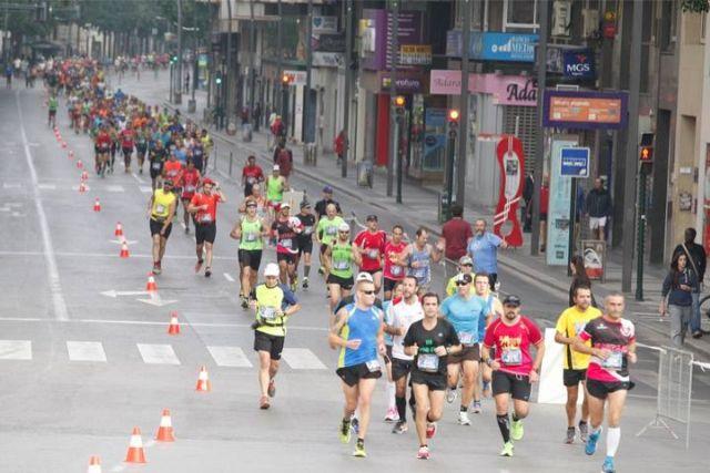 Atletas del Club de Atletismo de Totana participaron en la II Maraton de Murcia, Foto 1