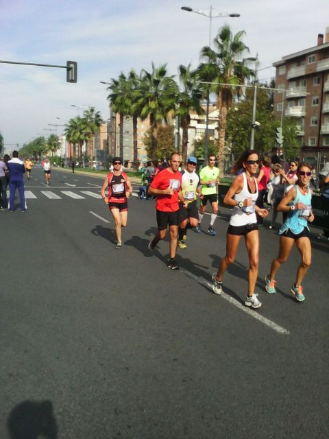 Atletas del Club de Atletismo de Totana participaron en la II Maraton de Murcia, Foto 2