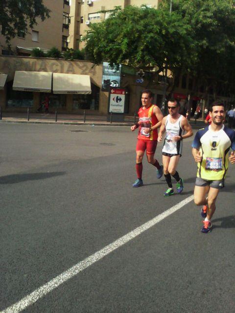 Atletas del Club de Atletismo de Totana participaron en la II Maraton de Murcia, Foto 3