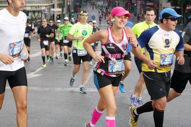 Atletas del Club de Atletismo de Totana participaron en la II Maraton de Murcia, Foto 4