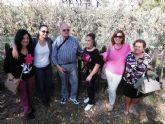 Un centenar de mayores del Centro Municipal de Día visita el Valle de Ricote