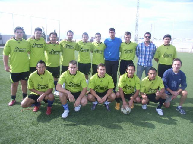Goleada del equipo Droguería Librería Patricio, en la cuarta jornada de la Liga Local de Fútbol Juega Limpio, Foto 1