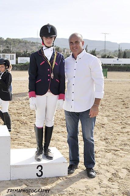La totanera Mari Carmen Tudela Soto subió al podium en el Campeonato de Doma Clásica de la Región de Murcia, Foto 7