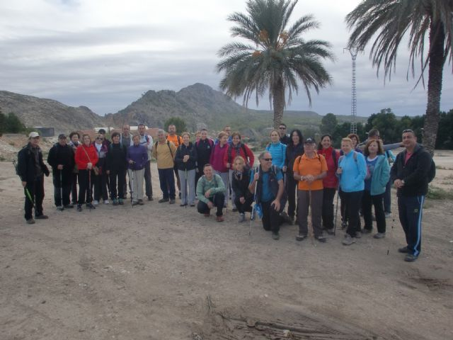 The Sports Council organized a day of hiking in the canyon of the Rio Argos Calasparra - 2