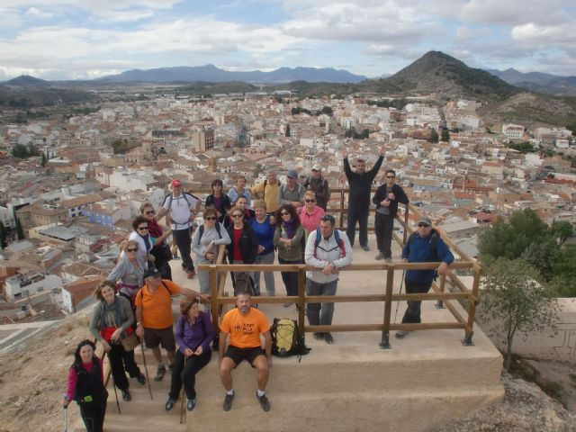 The Sports Council organized a day of hiking in the canyon of the Rio Argos Calasparra - 5