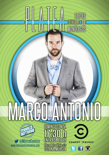 Evening of Monologues at Plataea Loungebar with MARCO ANTONIO - 2