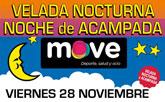 MOVE organiza una Velada Nocturna y Noche de Acampada dirigida a niños