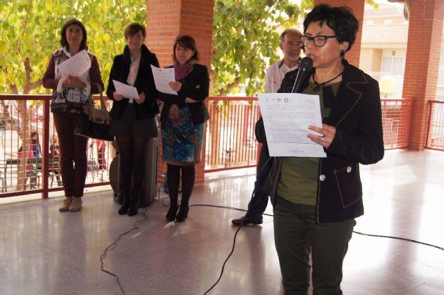 Se da lectura al manifiesto institucional con motivo del Día Internacional para la Eliminación de la Violencia contra la Mujer