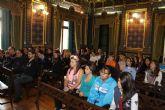 Los jóvenes de Mazarrón muestran su rechazo a la violencia de género