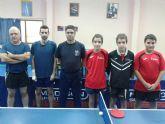 3ª nacional Tenis de Mesa. El Totana B derrotado en casa 3-4 con Veteranos Murcia